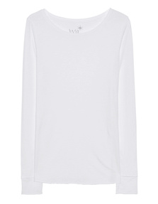 JUVIA Crew Neck Uni Basic White