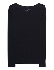 JUVIA Crew Neck Basic Black