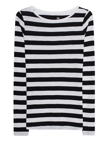 JUVIA Stripes Black