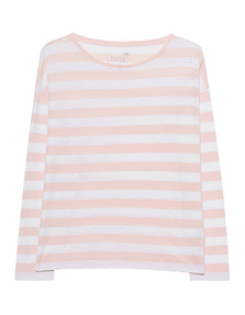 JUVIA Boxy Stripes White