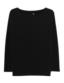 JUVIA Fleece Oversized Black