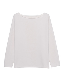 JUVIA Crew Neck Off White