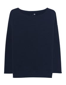 JUVIA Crew Neck Dark Blue