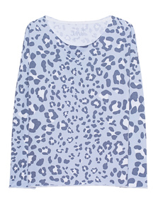 JUVIA Leo Pattern All Over Blue