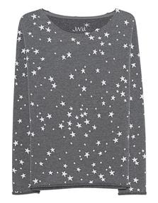 JUVIA Stars Allover Anthracite