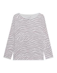 JUVIA Zebra Pattern Off-White