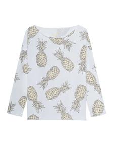 JUVIA Casual Ananas Yellow White