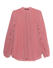 SLY 010 Silk Pleated Rose