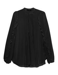 SLY 010 Silk Pleated Black