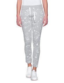 JUVIA Sweat Planets White Grey