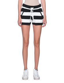 JUVIA Block Stripe Black White