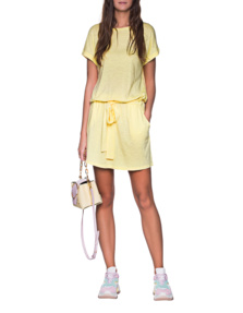 JUVIA Short Dress Yellow