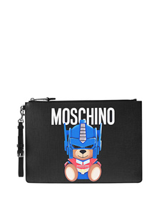 MOSCHINO Transfomers Teddy Black