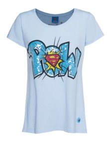 FROGBOX Pow Art Superman Light Blue
