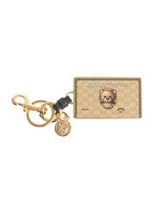 MOSCHINO Bear Card Gold