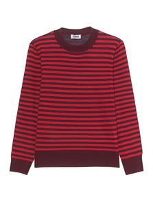 SONIA BY SONIA RYKIEL Stripe Knit Brownie Lipstick Bro
