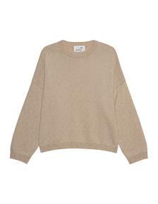 JUVIA Knit Loose Wool Cashmere Beige