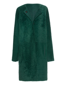 YVES SALOMON Manteau Green