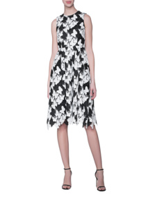 SLY 010 Butterfly Lace Black White