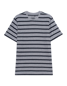 JUVIA Stripe Shirt Grey
