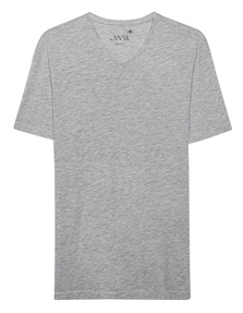 JUVIA V Neck Short Grey