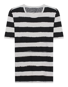 JUVIA Striped Grey Black