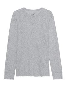JUVIA Mottled Long Grey Melange