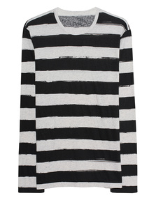 JUVIA Striped Black