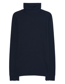 JUVIA Turtle Neck Navy Blue