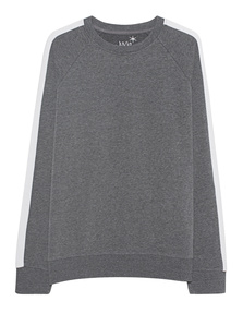 JUVIA Crew Stripes Grey
