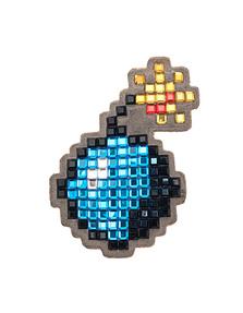 ANYA HINDMARCH Diamante Bomb Blue