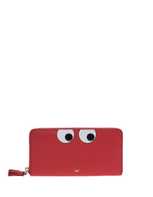 ANYA HINDMARCH Large Zip Round Eyes Geisha