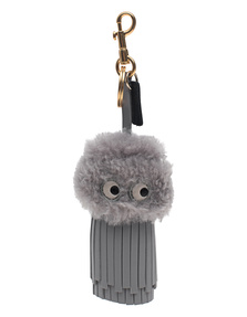 ANYA HINDMARCH Tassel Eyes Light Slate