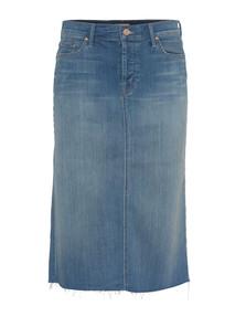 MOTHER Easy A Skirt Blue