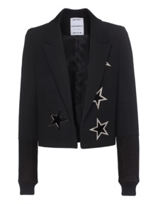 ANTHONY VACCARELLO Silver Star Boxy Black