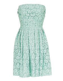BOUTIQUE MOSCHINO Leo Lace Gather Mint