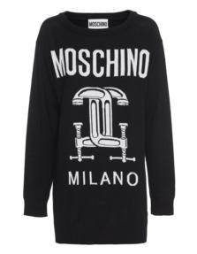 MOSCHINO Workshop New Wool Black