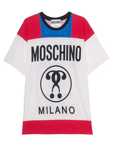 MOSCHINO Package Print Red