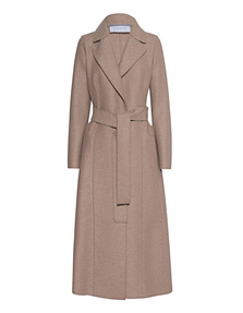 HARRIS WHARF LONDON Long Duster Coat Camel