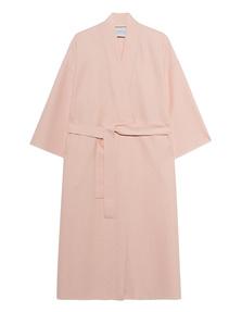 HARRIS WHARF LONDON Kimono Light Pressed Wool Pastel Pink