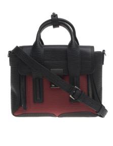 3.1 PHILLIP LIM Pashli Mini Crimson Black