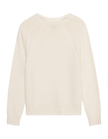 AG Jeans Raglan Off White