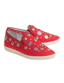 Toga Pulla Flat Canvas Red