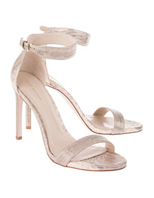 STUART WEITZMAN Backupitz Metal Gold
