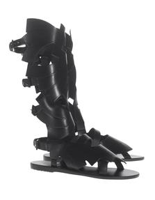 Ancient Greek Sandals X Carven Banana High Black
