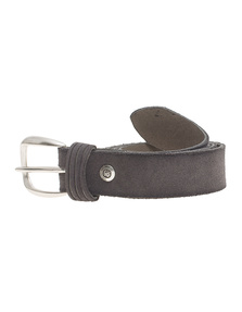 B.Belt Clean Suede Grey