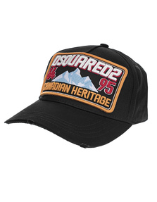 DSQUARED2 Canadian Heritage Cap Black