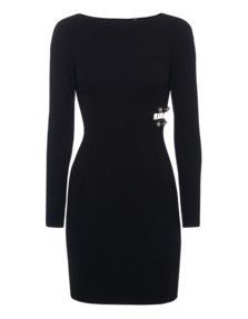 VERSUS VERSACE by ANTHONY VACCARELLO Abito Donna Jersey Black