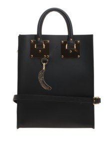 SOPHIE HULME Mini Albion Saddle Black