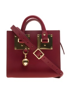 SOPHIE HULME Albion Box Cherry Red